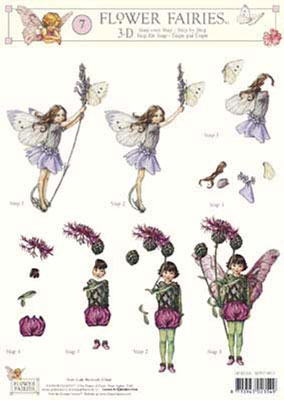 3DFFSTAP06 Studio Light Flower Fairies 06