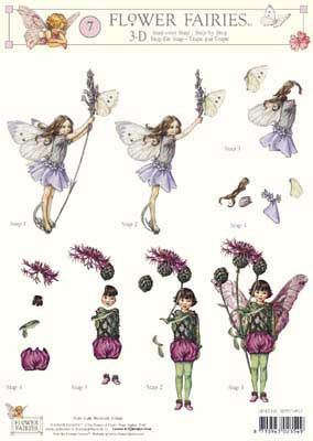 3DFFSTAP07 Studio Light Flower Fairies 07