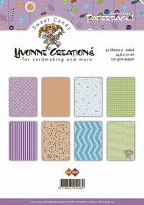 Paperpack 1 Yvonne Creations