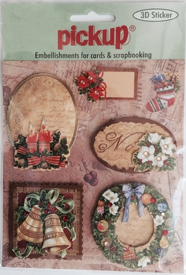 ss6044x Embellishment for cards en scrapbooking Pick up