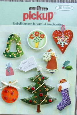 PU6055x Embellishment for cards en scrapbooking Pick up