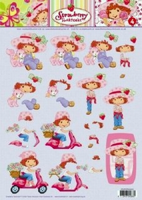 STAPSTRAW04 Strawberry Shortcake Studio Light
