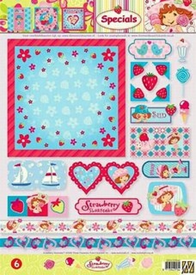 SPECSTRAW06 Strawberry Shortcake Studio Light