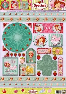 STAPSTRAW17 Strawberry Shortcake Studio Light