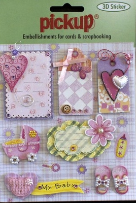 PU3036 Embellishments for Cards and Scrapbooking