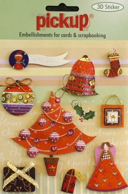 PU3048 Embellishments for Cards and Scrapbooking