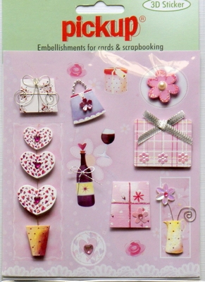 PU3013 Embellishments for Cards and Scrapbooking