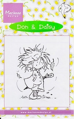 DDS3324 Clearstamp Marianne Design Don & Daisy
