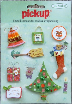 PU6058x Embellishment for cards en scrapbooking Pick up