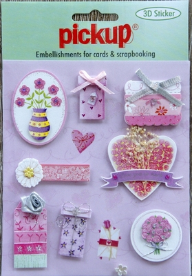 PU3011 Embellishments for Cards and Scrapbooking