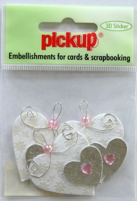 PUK1239 Embellishments for Cards and Scrapbooking