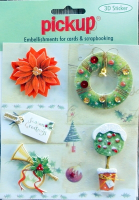 PU6049X Embellishments for Cards and Scrapbooking