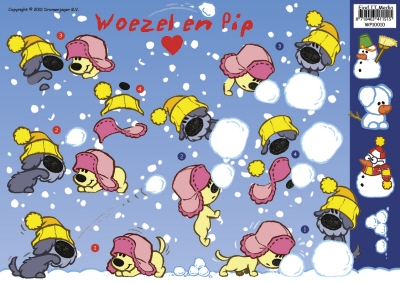 WP-10010 Woezel en Pip Winter