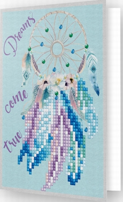 DDG.007 Diamond Dotz® - Greeting Card DREAMS COME TRUE