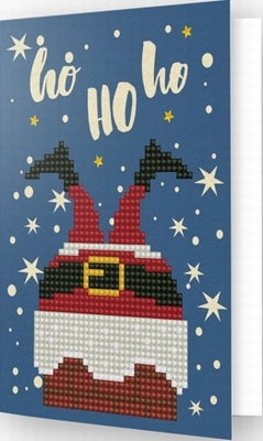 DDG.020 Diamond Dotz® - Greeting Card HO HO HO