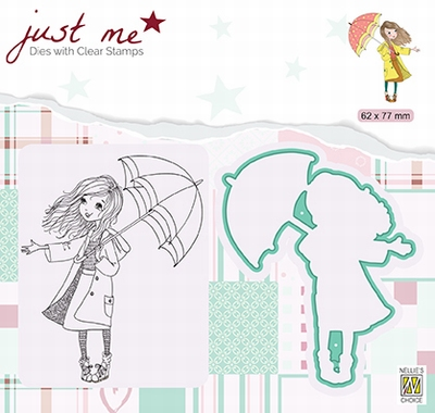 JMSD009 Just Me Die + Clear stamp Autumn weather