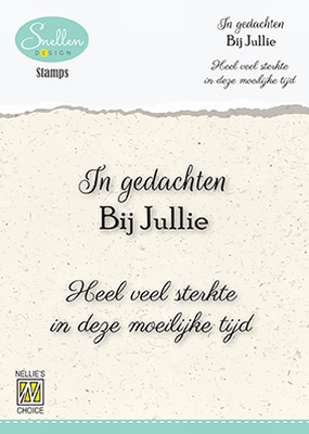 DCTCS005 Dutch Condolence Text Clear Stamps nr. 5