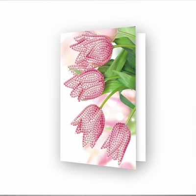 DDG.036 Diamond Dotz® - Greeting Card Romantic Tulips