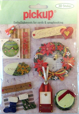 PU6082X Embellishments for Cards and Scrapbooking