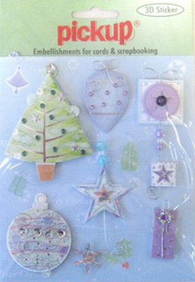 PU6084 Embellishments for Cards and Scrapbooking