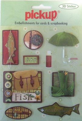 PU3025 Embellishments for Cards and Scrapbooking