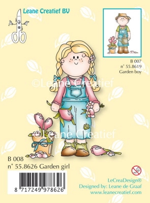 55.8626 LeCreaDesign® Bambinie Garden Girl