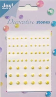 60210010 Joy decorative stones Licht geel