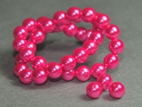 5010008 20 X Glasparel fuchsia 8mm.