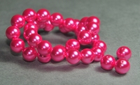 5010010 10 X Glasparel fuchsia 10mm.
