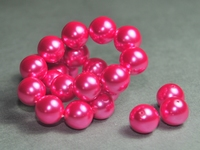 5010014 5 X Glasparel fuchsia 14mm.