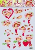 STAPSTRAW01 Strawberry Shortcake Studio Light