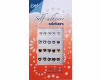 60220014 Joy Adh.Stickers Goud/Zilver