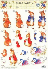 STAPPOT09 Peter Rabbit Studio Light
