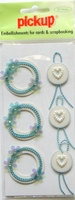PU2421 Embellishments for Cards and Scrapbooking