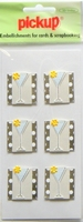 PU2410 Embellishments for Cards and Scrapbooking