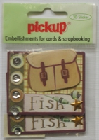 PUK1078 Embellishments for Cards and Scrapbooking
