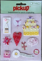 PU3014 Embellishments for Cards and Scrapbooking