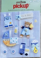 PU3098 Embellishments for Cards and Scrapbooking