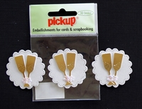 PUK1191 Embellishments for Cards and Scrapbooking
