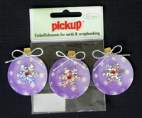 PUK6141 Embellishments for Cards and Scrapbooking