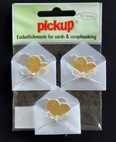 PUK1202 Embellishments for Cards and Scrapbooking