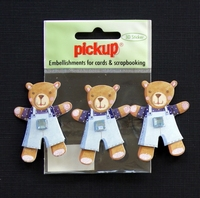 PUK1061 Embellishments for Cards and Scrapbooking