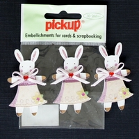 PUK1064 Embellishments for Cards and Scrapbooking
