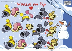 WP-10009 Woezel en Pip Winter