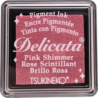 DE-SML-333 Delicata small inkpads Pink Shimmer