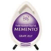 MD500 Memento Inkpad Dewdrops Grape jelly