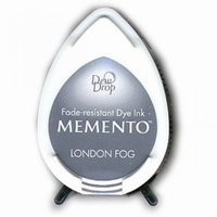 MD901 Memento Inkpad Dewdrops London Fog