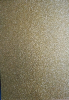 25.5244 Glitter foam sheets A4 Glitter Antique Gold
