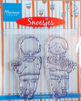 HM9432 Clearstamp Marianne Design Snoesjes