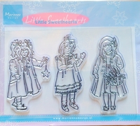 TC0813 Clearstamp Marianne Design Little Sweethearts